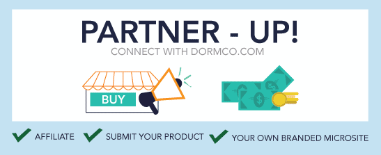 Partner-Up Connect With Dormco.com